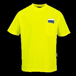 T-shirt Day-Vis z kieszonką