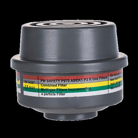 Filtr kombinowany ABEK1P3 wyposażony w specjalny gwint