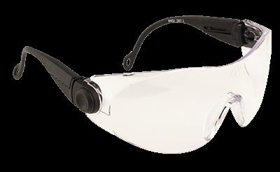 Regulowane okulary ochronne