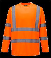 T-Shirt ostrzegawczy z długimi rękawami