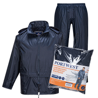Zestaw przeciwdeszczowy (kurtka + spodnie)